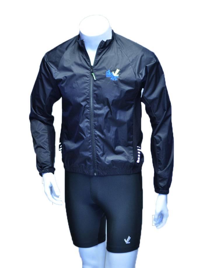 Full Zip Wind Jacket : Black