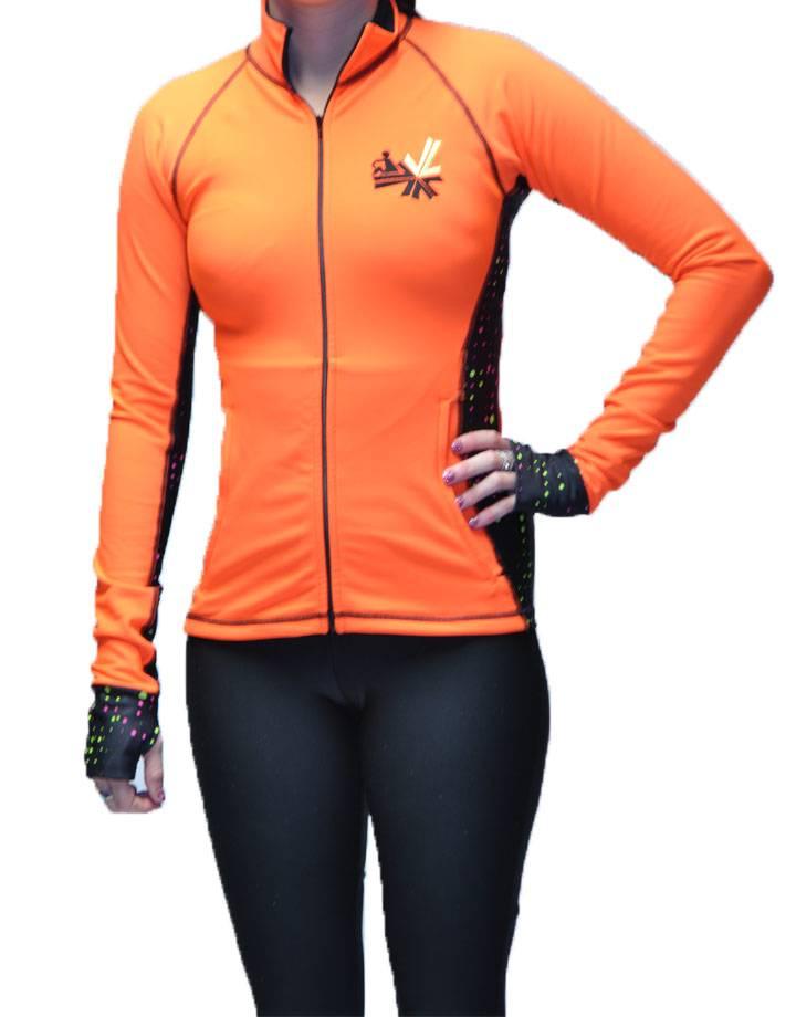 River Jacket : Flo Orange