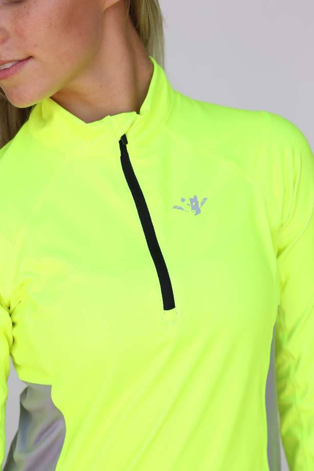 USR Women's Quarter Zip High Vis