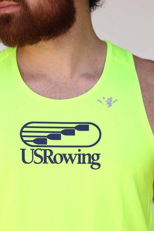 USR Men's Performance Singlet High Vis