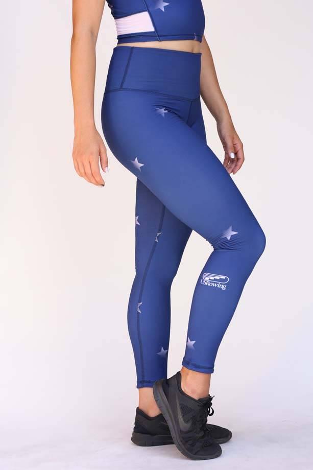 USR Women's Full Length Legging Stars