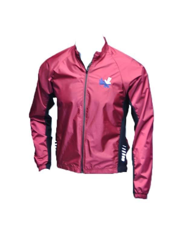Full Zip Wind Jacket : Maroon
