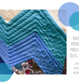 Basic Modern Machine Quilting By Ashley Nickels