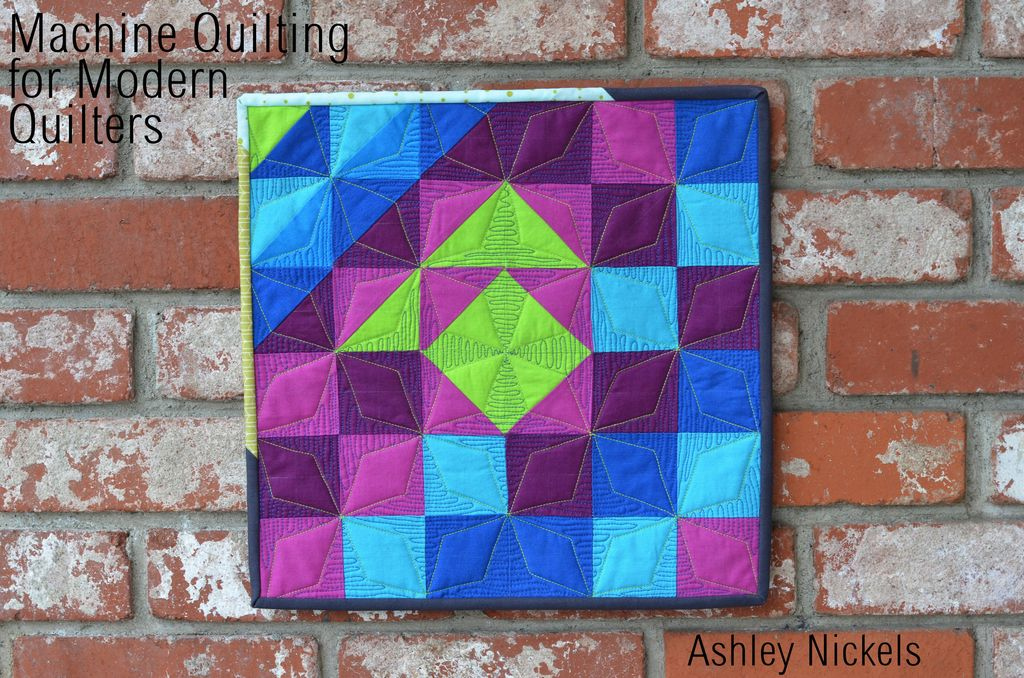 """Modern Machine Quilting """"After the Beginning"""" by Ashley Nickels"""