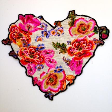 Class - Exuberant Applique Wreaths & Hearts by Alethea Ballard