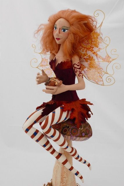 Class - The Basics of Doll Making; Fairy by Sondra Von Burg