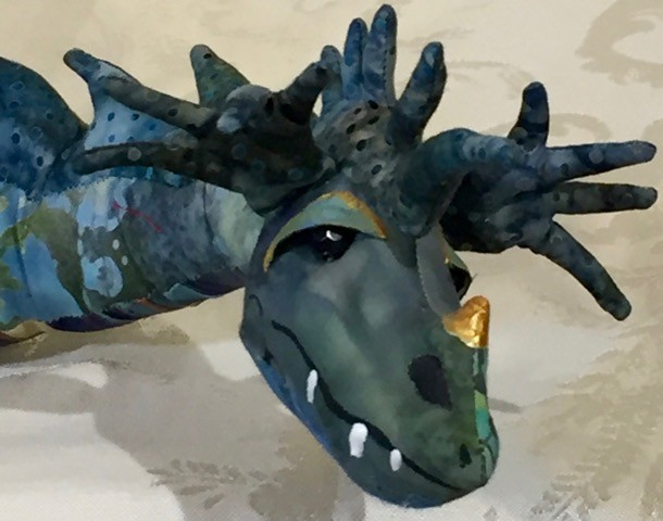 Class - The Basics of Doll Making; Dragon by Sondra Von Burg