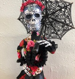 Class - Day of the Dead Doll by Sondra Von Burg