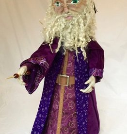 Class - The Basics of Doll Making; Santa/Wizard By Sondra Von Burg