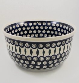 Large Serving Bowl (2) - Peacock Pattern