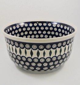 Large Serving Bowl (2) - Peacock Pattern