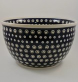 Large Serving Bowl (2) - Blue/Green/Dots