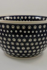 Large Serving Bowl (2) - Blue/Green/Dots
