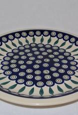 Dinner Plate - Peacock Pattern