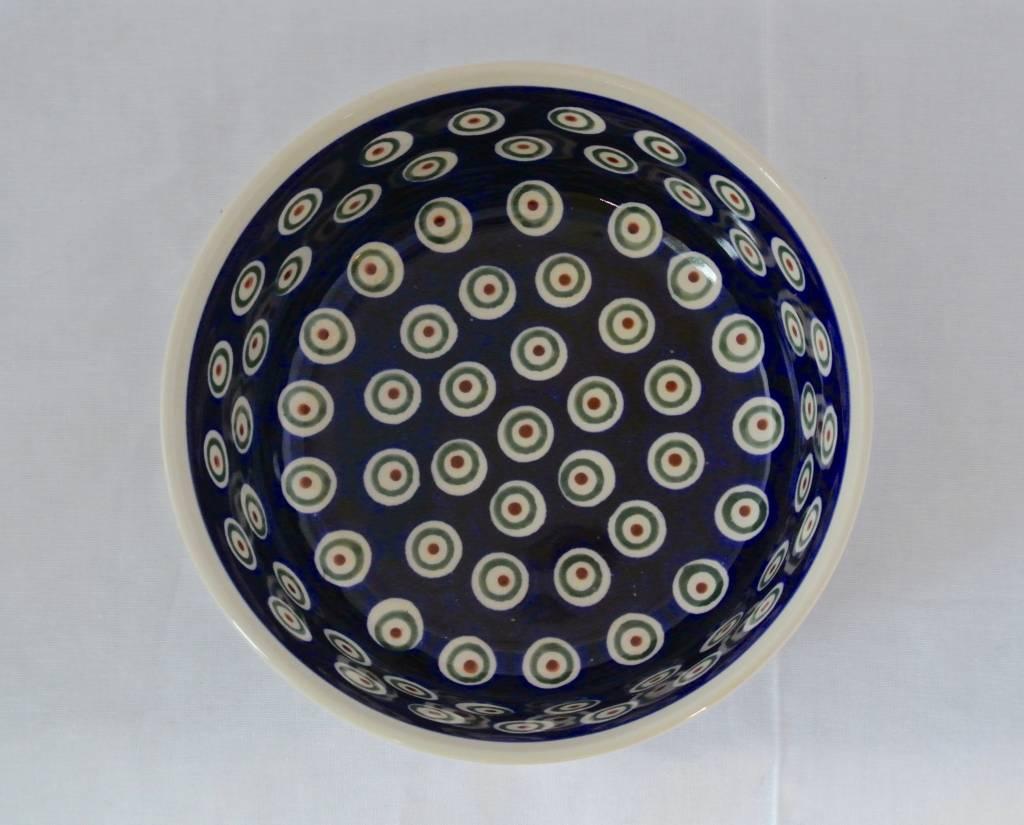Bowl Peacock Pattern