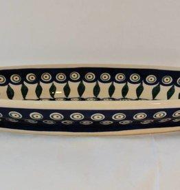 Platter - Peacock Pattern