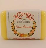 Mistral Classic French Soap Collection - 7 oz Citrus Pomelo