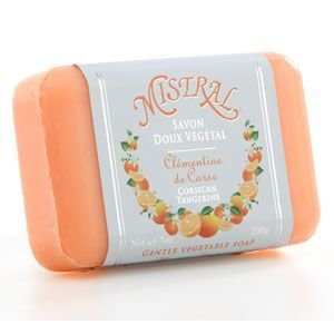 Mistral Classic French Soap Collection - 7 oz Corsican Tangerine