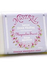 Mistral Classic French Soap Collection - 7 oz Sugar Magnolia