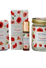 Mistral Papiers Fantaisie Collection Soap - 3.14 oz Poppies