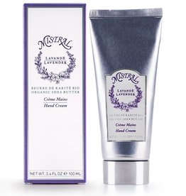Mistral Boxed Hand Cream - Lavender