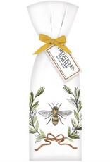 Bee Olive Wreath Towel Set