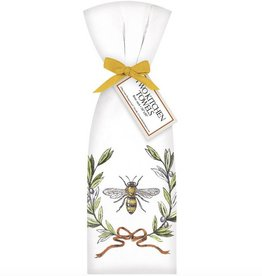Bee Olive Wreath Towel Set
