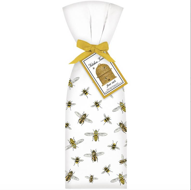 Scattered Bee Towel Set