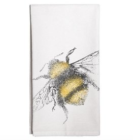 Fuzzy Bee Towel