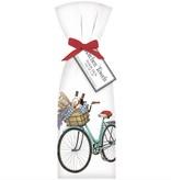Bike Lavender Towel Set - 2 pk