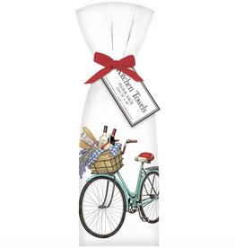 Bike Lavender Towel Set