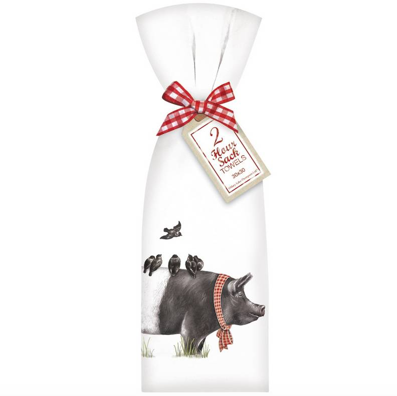 Farmhouse Pig Towel Set