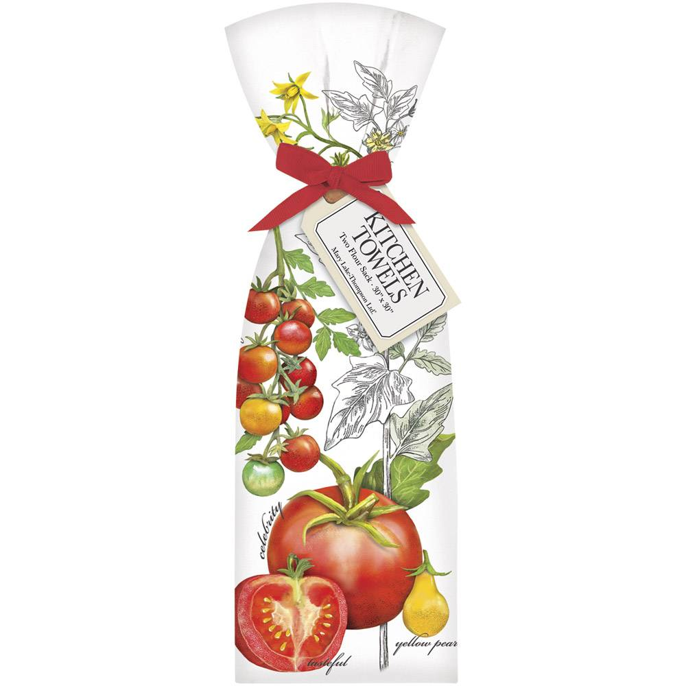 Botanical Tomatoes Towel Set - 2 pk