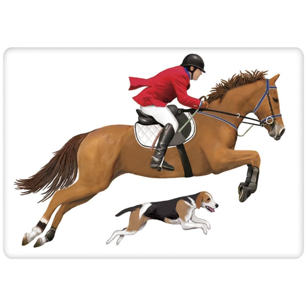 Horse Jumper Bagged Towel