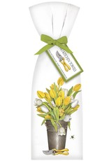 Yellow & White Tulips Towel Set - 2 pk