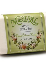 Mistral Classic French Soap Collection - 7 oz Coco Lime