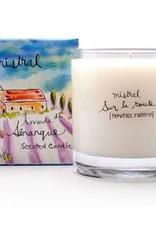 Senanque Lavander Candle 8.8 oz - Mistral Provence Roadtrip