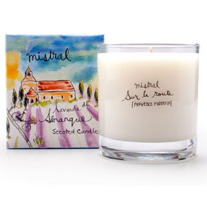 Senanque Lavender Candle 8.8 oz - Mistral Provence Road Trip