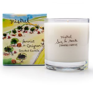 Grignan Apple Candle 8.8 oz - Mistral Provence Road Trip