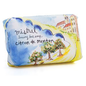 Menton Citrus Soap 7 oz - Mistral Provence Road Trip Collection Soap