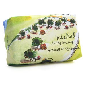 Mistral Provence Roadtrip Collection Soap - 7 oz Grignan Apple
