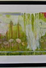 "Pesky Weeds I- acrylic glass - aprox 23"" x 38"""