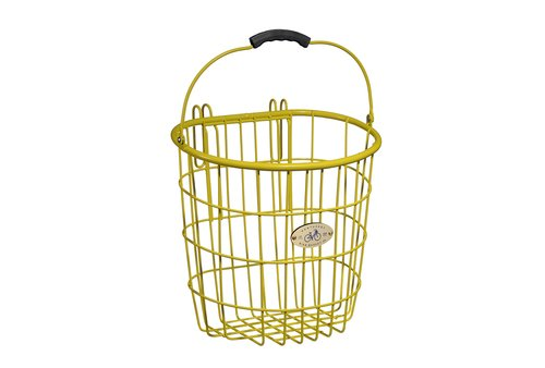 Bike Basket - Surfside Pannier - Yellow