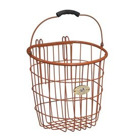 Surfside Pannier Wire Basket - Orange