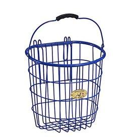 Bike Basket - Surfside Wire Pannier - Royal Blue