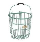 Surfside Rear Wire Pannier Basket - Turquoise