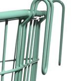 Surfside Rear Wire Pannier Basket - Charcoal Gray