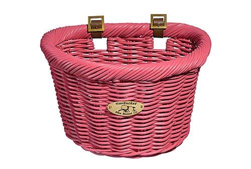 Bike Basket - Cruiser Adult D-Shape - Rose