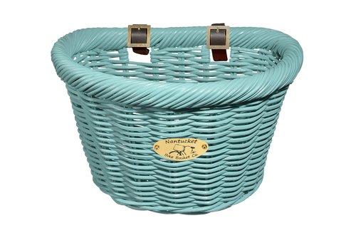 D-Shape Cruiser Basket - Turquoise