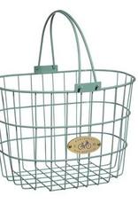 Surfside Adult Wire Basket- Mint Green
